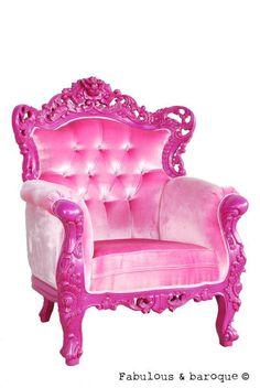 pink laquer table | Baroque Fuchsia Belle de Fleur Chair - Fabulous and Baroque Furniture ...