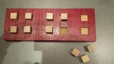 Voor leerlingen in het eerste leerjaar die nog nood hebben aan groot materiaal dat ze kunnen verplaatsen bij het tellen
