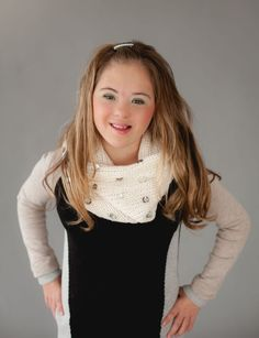 Changing Perception: Local model with Down Syndrome shows there is beauty in everyone. Kennedy Walsh