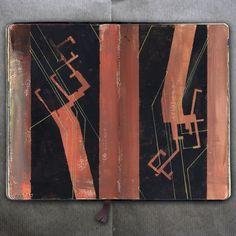 On the ruin _ Drawing, 2016 _Mariasun Salgado Artist Journal, Artist Sketchbook, Art Drawings, Drawing Faces, Digital Painting Tutorials, Illustration Art, Art Illustrations, Art Reference, Cool Art