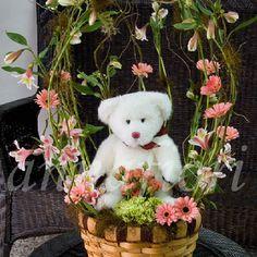 Tierna Llegada arreglo floral para bebes