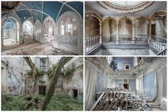 Gallery of Photographer Mirna Pavlovic Captures the Decaying Interiors of Grand…