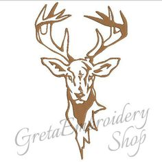 GretaembroideryShop에 의해 사슴 자수 designsdeer의 downloaddeer