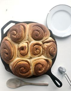 Sourdough Cinnamon Rolls, Sourdough Recipes, Sourdough Bread, Baked Rolls, Thing 1, Tasty, Yummy Food, Grass Fed Butter, Melt In Your Mouth
