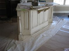 The Magic Brush, Inc.: What's not to love about a distressed, CREAM island??