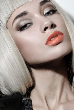 Silver Eyes & Coral Lips | Emeral Beautylife Cosmetics | Shop Online