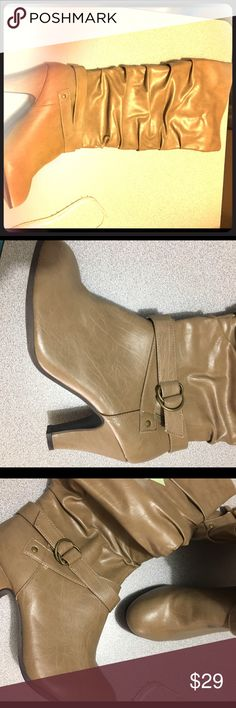 Rampage Emmerson caramel size 10M Rampage boots size 10M caramel new in the box Rampage Shoes Ankle Boots & Booties