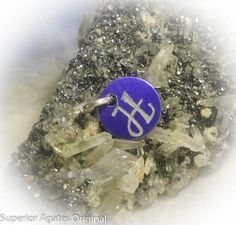 Letter H Hand Engraved Purple Personalized Small by superioragates, $4.00