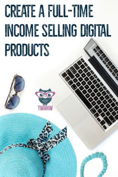 Great tips to selling digital products online - it's not just side income!
