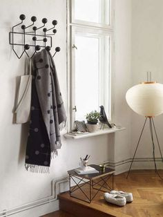 All black Hang-It-All by Charles & Ray Eames, 1953