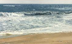 como pintar la espuma de mar en la orilla - Buscar con Google