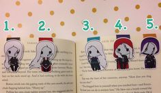 Magnetic Bookmarks The Assassin by HappyHelloCo on Etsy