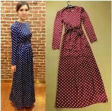 Polka dress with belt