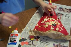 Create Art With Me!: Easy-Peasy Pizza Sculptures!