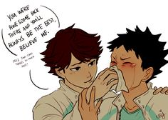 I believe in you too, Iwa-chan!!!