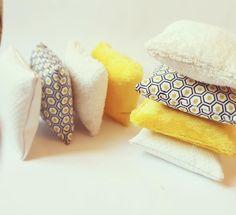 Coussins sensoriels Montessori, ou coussins tactiles. : Jeux, peluches, doudous par tous-les-matins-du-monde