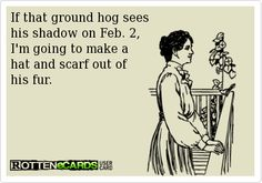 Groundhog's Day humor