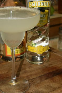 Deep South Dish: Weekend Cocktails - Lemon Drop
