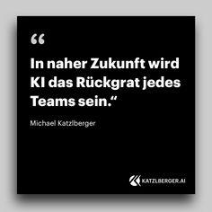 In naher Zukunft wird KI das Rückgrat jedes Teams sein.