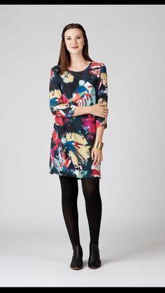 Esplanade Shift Dress with Back Zip at Florence Boutique, Karori Road, Karori, Wellington New Zealand Florence, Dresses With Sleeves, Boutique, Zip, Long Sleeve, Fashion, Moda, Sleeve Dresses, Long Dress Patterns