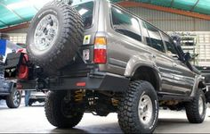 Would like to see more images of this concept... Viper VPR 80 Series Ultima Rear Bumper W/Swings FZJ80 FJ80 LX450
