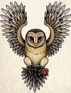 Tatuajes de búhos - Tendenzias.com
