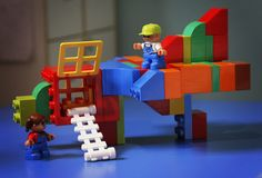 Clever Duplo airplane