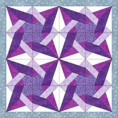 tangled star quilt 2
