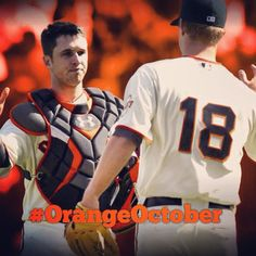 We're back....#OrangeOctober