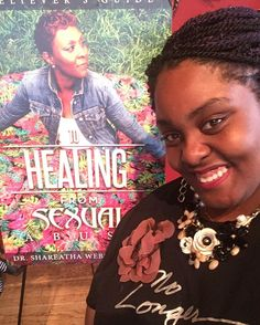 I am so happy for my #sisterinchrist @dr.shareatha! This is an awesome achievement for her! #nolongersilent #abelieversguidetohealingfromsexualabuse #drshareathawebster #favoraintfair