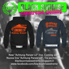 BlackSunriseExxxtremeClothing: Achtung Panzer v2, tra poco disponibile / coming s...