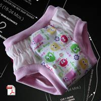 Tinkle Time Pocket Trainer Diaper Sewing Pattern