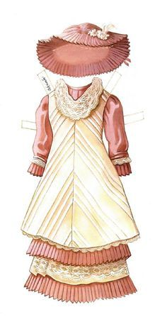 Victorian Doll paper doll II - outfit