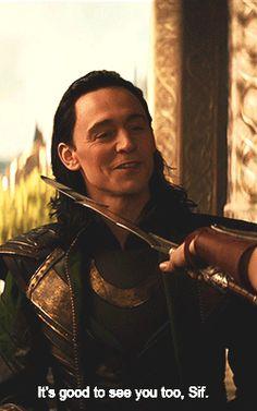 """It's good to see you too, Sif"" #Loki #LokiDay"