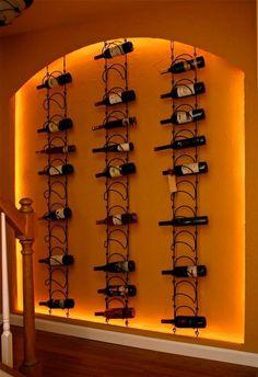 Wine wall in my basement