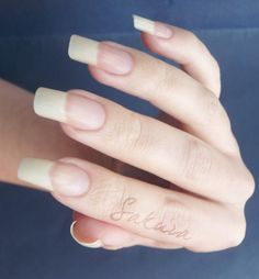 Long Nails Just A Touch Too For Me But Love The Clean French