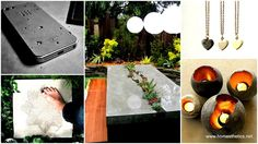 30 DIY Concrete And Cement Projects collection to inspire your DIY projects.