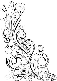 Choose from 60 top Victorian Style Flower Decoration stock illustrations from iStock. Swirl Tattoo, Ornament Drawing, Pinstriping Designs, Tattoo Feminina, Clip Art, Quilling Designs, Ornaments Design, Scroll Design, Swirl Design