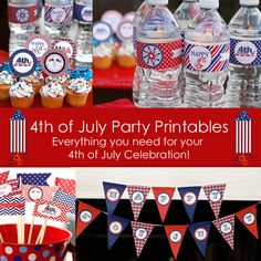4th of July Printable Party Kit now on sale