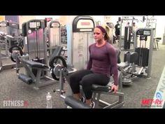 Nicole Wilkins - Sculpt Your Quads  With Leg Extension Drop Sets