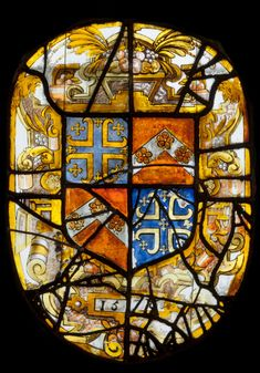 Coat of Arms of Sir Francis Knollys (c. 1512 - 1596) From Ashridge Park, Hertfordshire Artist/maker unknown, English 1578