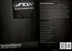 CMF Survival Manual 0310 available on Amazon  usCrow Archives