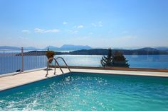 #elegant #romantic #villa Myrtis close to the beach with #stunning #view for relaxing #holidays in #lefkada!