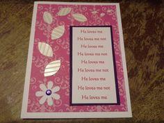 Gins valentine card 624