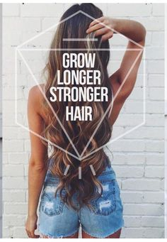 Simple hair treatment for longer, stronger, healthier hair.