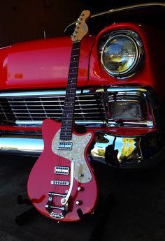 www.calumetguitars.com Guitar to match the 56 chevy!