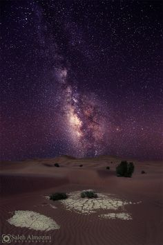 sands In Tabuk Milky Way by saleh almozini - Photo 84764373 - 500px