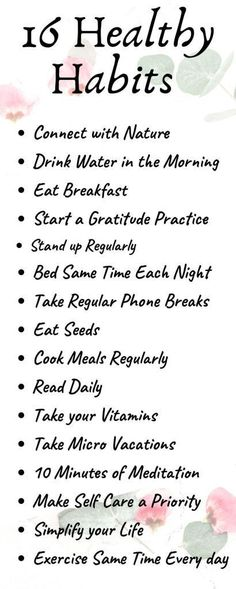 16 Healthy Habits to Improve Your Life – ScaleitSimple - Healthy habits have the power to dramatically improve our quality of life and our overall happiness. Try these 16 healthy habits and start loving your life. Avocado Smoothie, Making A Vision Board, Polycystic Ovary Syndrome, Mental Training, Practice Gratitude, Menstrual Cycle, Love Your Life, Wellness Tips, Tips