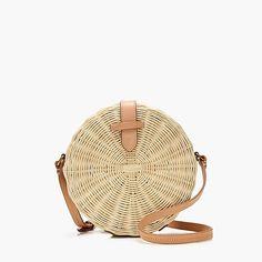 women's circle straw crossbody bag - women's bags