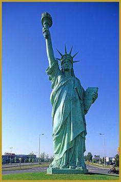 la statue de la Liberté. Colmar